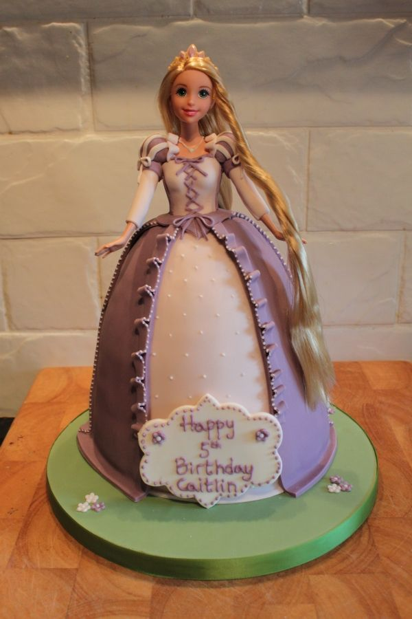 Rapunzel Cake Ideas Here Is Caitlin S Rapunzel Cake For