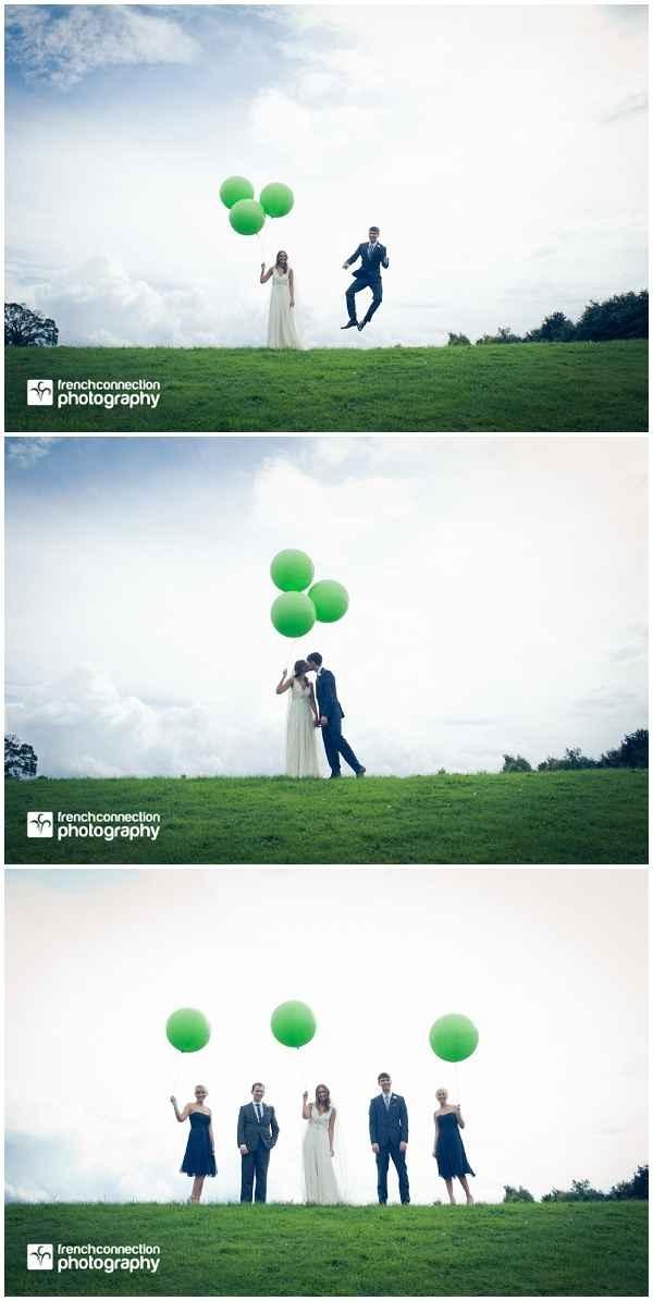 Wedding picture idea: balloons!