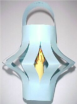 Jesus is the Light--paper lantern