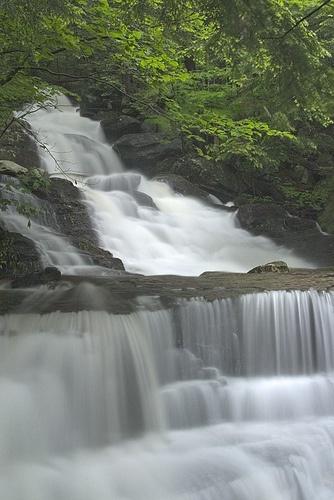 Abbey Pond Cascades, Middlebury, Vermont