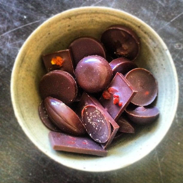 Beautiful, delicious, amazing, raw, chocolate :) by Laura!