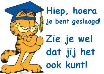 Felicitatie voor het halen van een diploma! op Feest-Plaatjes.nl