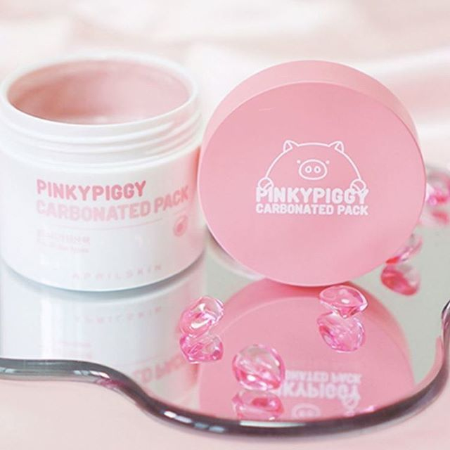 #bbcosmetic_official is now selling #aprilskin pinky piggy carbonated pack which is very famous in Facebook . :D please look around.