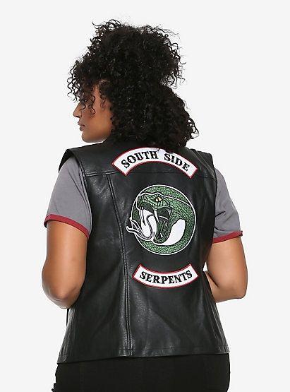 Biker Pu Jacket Plus Snake dBoCxe