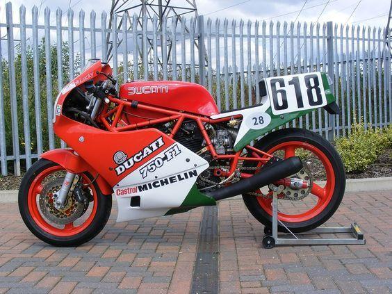 Ducati 750F1 Lucky Replica