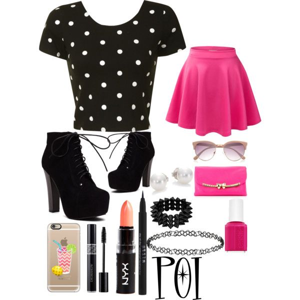 Punk Girly By Person Of Intrest On Polyvore Featuring Polyvore Fashion Style Glamorous
