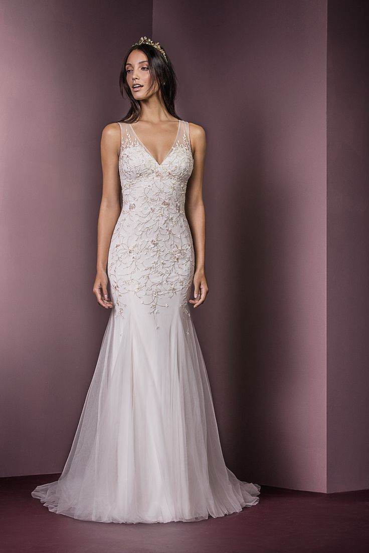 Stunning wedding dress from Ellis Bridal, available from TL Bridal Boutique in Axminster Devon
