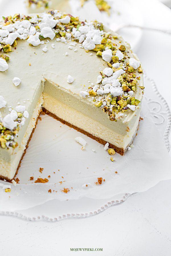 Pistachio Mousse Cheesecake
