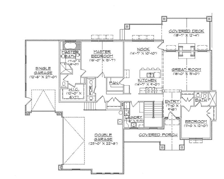 Empty nester 2 level 1 empty nester house plan ideas for Best empty nester house plans
