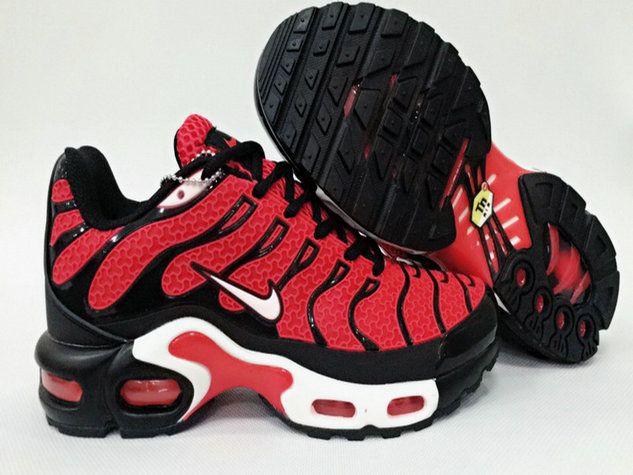 sports shoes 97491 48d21 Men Nike Air Max Plus Tn Ultra Blood Red Black White Shoe ...