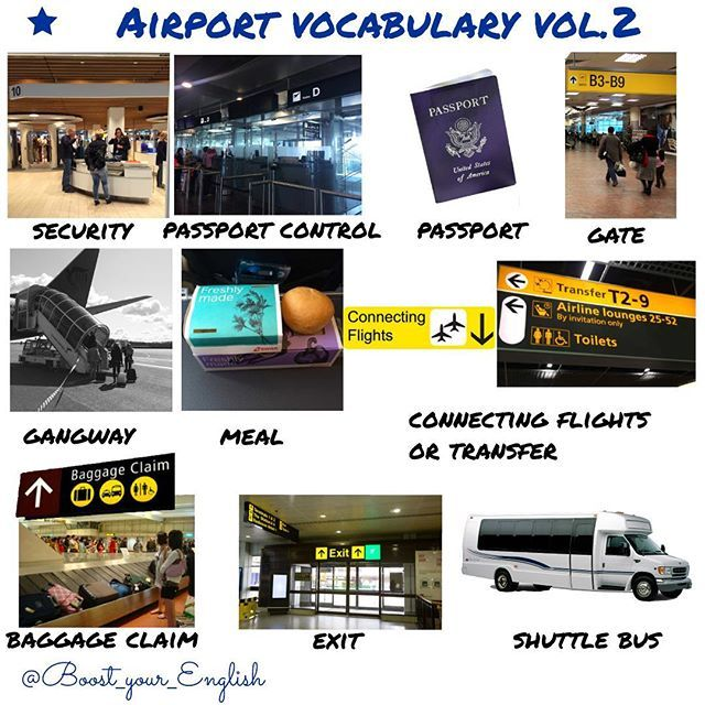 ✅✈️ AIR TRAVEL 2 - answer the questions in COMMENTS: What do you call these? 1️⃣ The bus you take from the airport to the city 2️⃣ The place where pick up your baggage 3️⃣ The steps leading to the plane 4️⃣ A document you need for a flight 5️⃣If you need to change flights? #boost_travel #boost_vocabulary #boost_communication