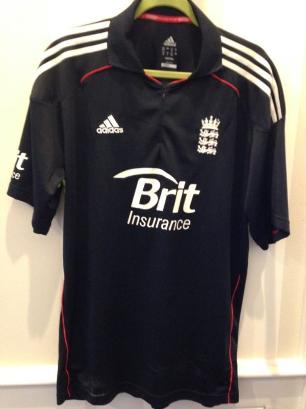 England Cricket Shirt By Adidas. 48 Inch Chest. New Without Tags.