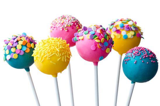 Cake Pops Zero Açúcar. Saboroso e divertido, ele é o must have nas festas.