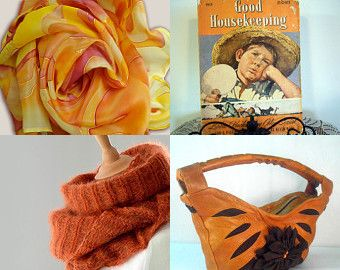 Autumn Orange by Beverly Ash Gilbert on Etsy--Pinned with TreasuryPin.com Repin if you love Orange!