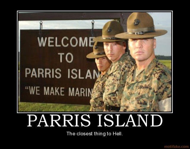 parris island usmc pinterest