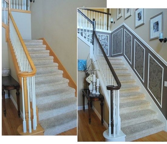 31 Stair Decor Ideas To Make Your Hallway Look Amazing: Best 20+ Home Improvement Ideas On Pinterest
