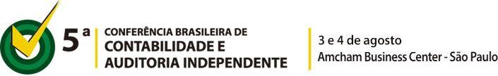Estão abertas as inscrições para a 5ª Conferência Brasileira de Contabilidade e Auditoria Independente