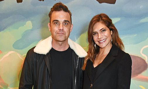 Robbie Williams' wife Ayda Field shares very rare photo of daughter Teddy
