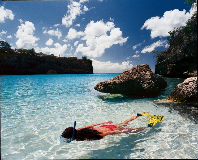 Snorkeling in Curacao - snorkeling beaches in the Curacao GPS map - http://www.gpsetravelguides.com/page/curacao-gps-map.html