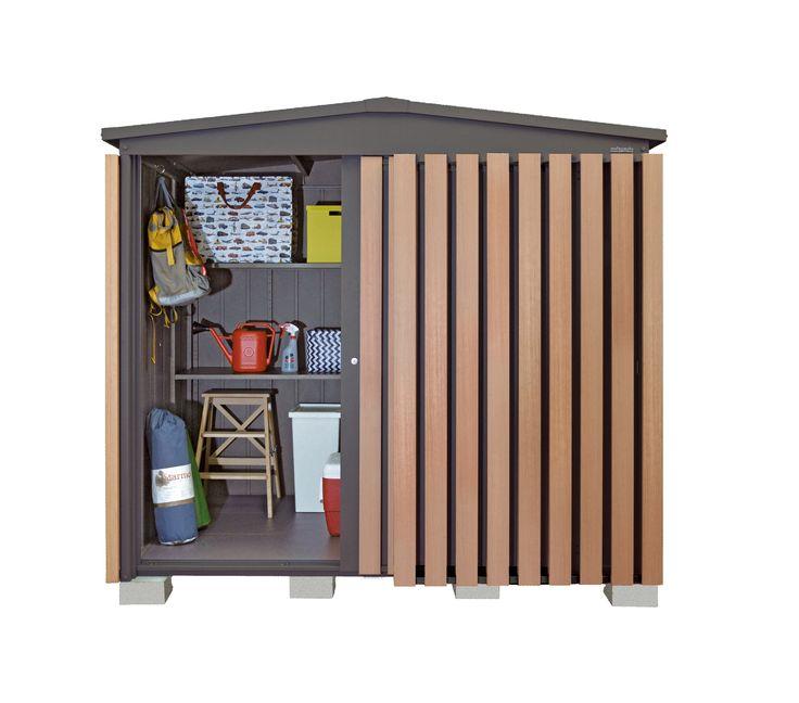マツモト物置 GM-2214 DG  あたらしいモノオキ あたらしいデザイン #マツモト物置 #デザイン物置 #オシャレ物置 #物置 #物置小屋 #イナバ物置 #ヨド物置 #ユーロ物置 #storage shed