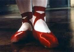red ballet slippers