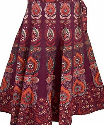 ClothesnCraft Designer Indian Wrap Around Cotton Skirt for Girls (Maroon) Indian block printed designer wrap around skirt. This ethnic Indian cotton skirt are hand printed by artisans of Rajasthan in India. It is an elegant ladies clothing for women of all ages and also a l http://www.comparestoreprices.co.uk/december-2016-week-1/clothesncraft-designer-indian-wrap-around-cotton-skirt-for-girls-maroon-.asp