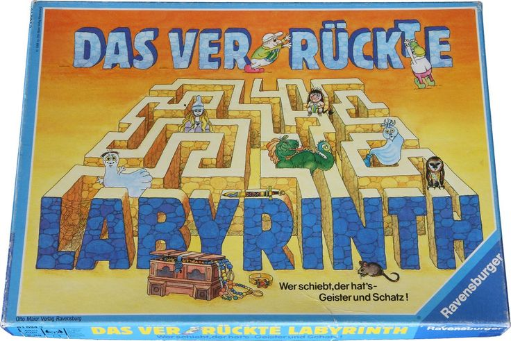 Das verrückte Labyrinth - i think one of us got this for xmas or a bday one year. It was a great game!!