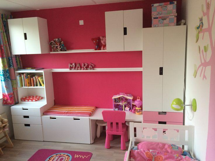 Blue Storage Kids Toy Box Playroom Furniture Bedroom Girls: Mares 'grote Meiden Kamer' Met Stuva. I Love Ikea