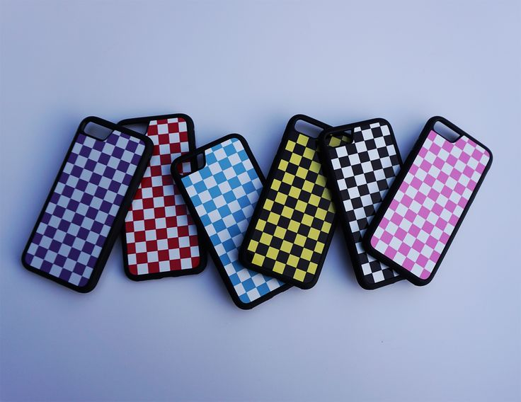 Checkered Phone case / iPhone 7 case / iPhone 7 plus case / iPhone 8 case / iPhone 8 plus case / iPhone X case / iPhone 6 case / phone cases