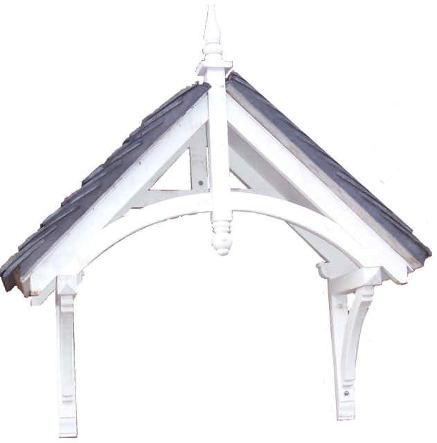 Balmoral 2 Apex Porch Door Canopy - West Midlands Canopies