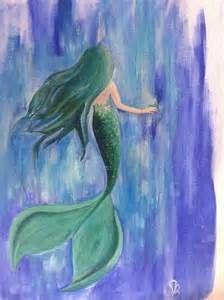 mermaid acrylic painting - Bing images