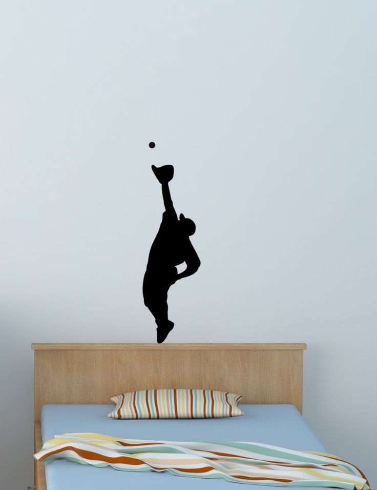 Amazing Baseball Wall Decal, Boys Bedroom Sports Sticker, Teen Room, Team Sports  Wall Decal Part 25