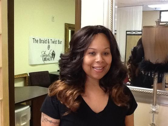 Tree Braids with Body Wave Hair in 1B/30 with Ombre ...