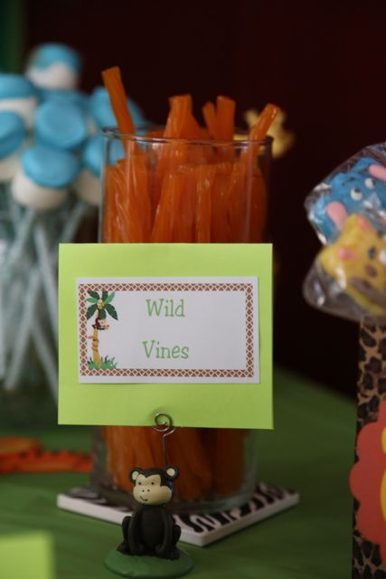 """Photo 9 of 30: Jungle/Safari Shower / Baby Shower/Sip & See """"Jackson's Party"""" 