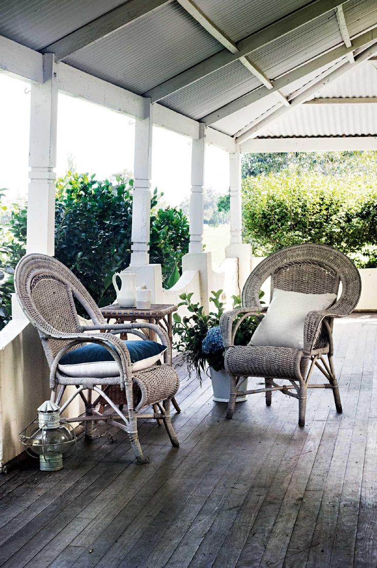 wrap-around verandah, Willow Farm homestead | Country Style Australia