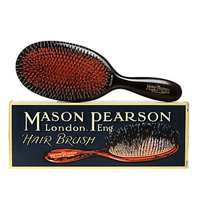 Rank & Style - Mason Pearson Popular Mixture Nylon & Boar Bristle Brush…