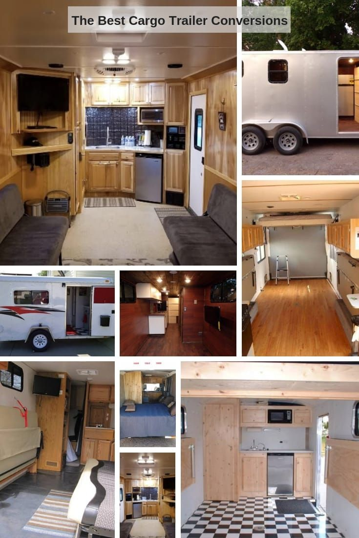 10 Cargo Trailer Conversion Ideas To Inspire Your Camper