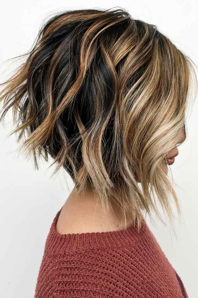 Inverted Bob Haircut #invertedbob #layeredbob ★ In case you would like to discover the most popular short layered haircu…