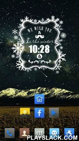 Snowy Christmas For Cobo  Android App - playslack.com , Cobo Themes are designed for Cobo Launcher.What does a theme consist of?☆Widgets: unique designed widgets on each home screen.☆Wallpaper: carefully selected wallpaper for every theme.☆Icons: designed icons of popular Apps, such as Facebook, Twitter, Gmail and so on.☆Icon Frame: beautify all your icons once for all.All you need we have designed for you. What you need to do is Tap Once, and Beautify All of your phone.Could a theme be…