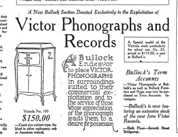 A Kinder, Simpler Time Dept. Phonograph Records