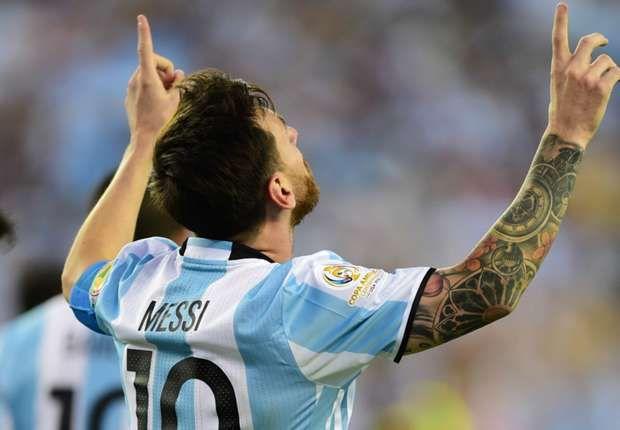 Messi 'proud' to equal Batistuta's Argentina scoring record
