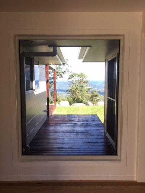 Grand entrance of our Oceanview single storey design built in the Sunshine Coast Hinterland | Tru-Built Builders Queensland