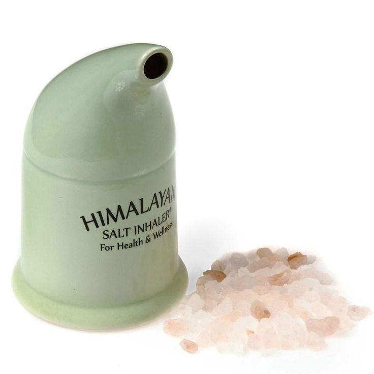 Himalayan Salt Inhaler - for treating asthma and coughs naturally