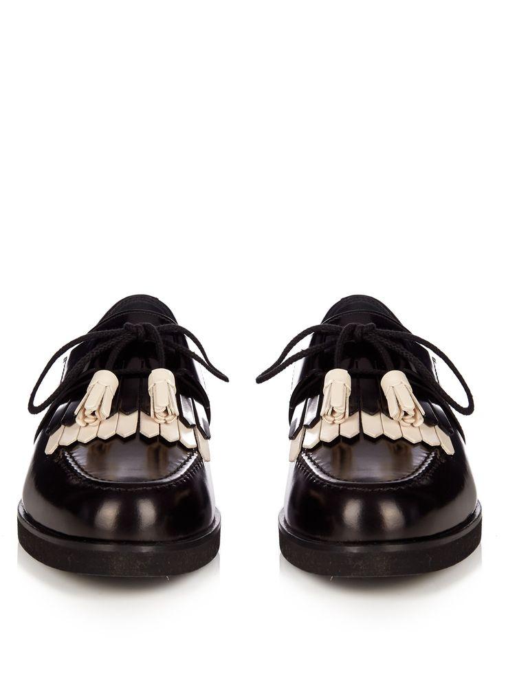 Адриатическое бахромой кружева-up обувь   ботинки   MATCHESFASHION.COM