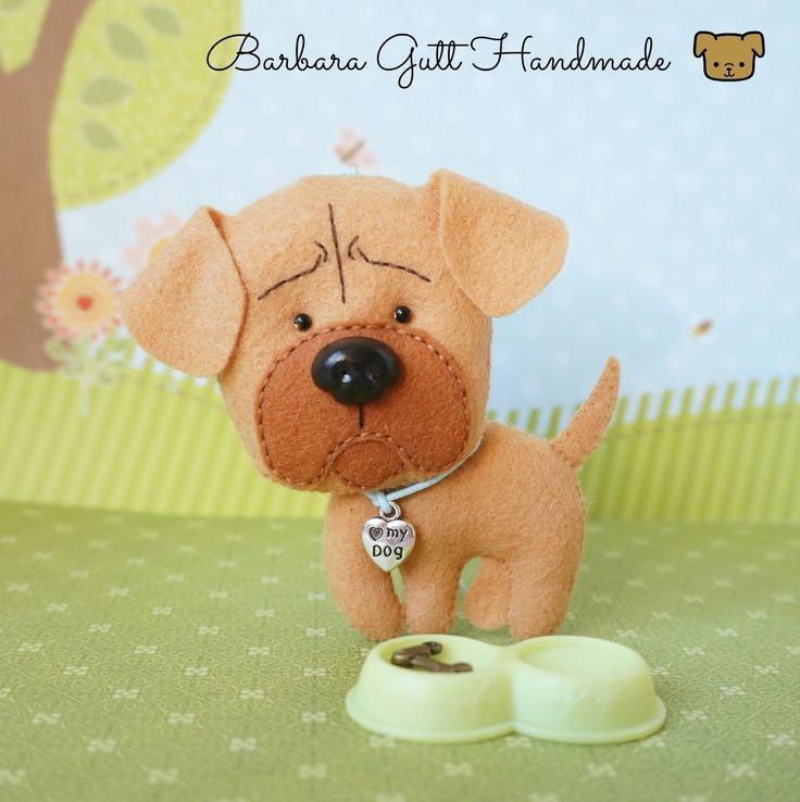 Barbara Handmade...: Filcowy Watashi / Felt Watashi