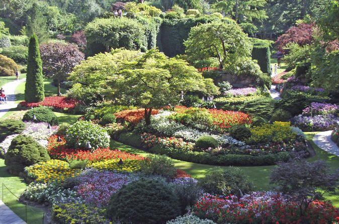 Butchart Gardens, Vancouver Island ...