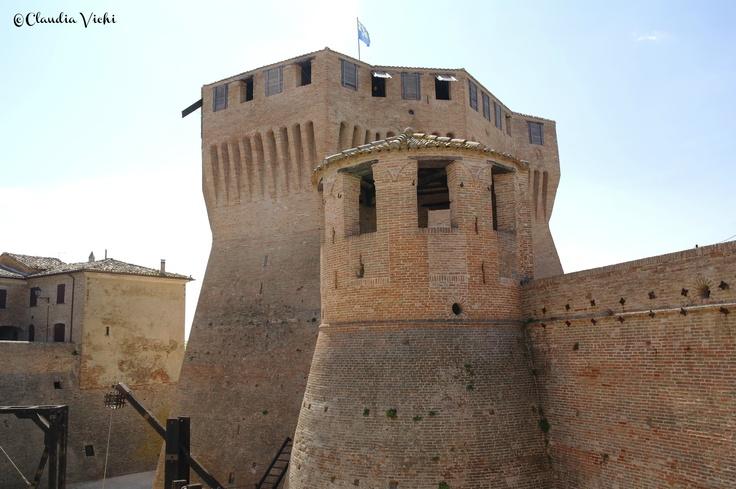 Mondavio (PU) la Rocca di Francesco di Giorgio Martini