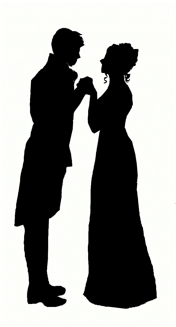 Jane Austen Silhouette | By Karen M Cox | Published August 17, 2013 | Full size is 709 × 1321 ...