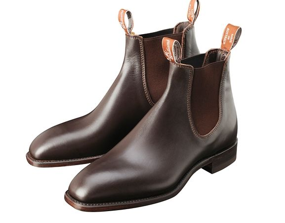 R.M.WILLIAMS - Comfort Craftsman. Men's leather riding boots. Made in Australia