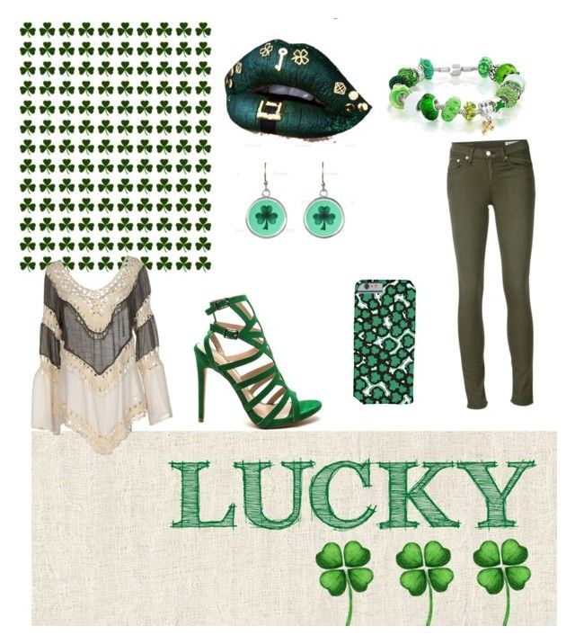 """""""HAPY SAINT PATRICKs DAY!!"""" by tasialynn03 on Polyvore featuring Bling Jewelry, Care Of You and rag & bone/JEAN"""